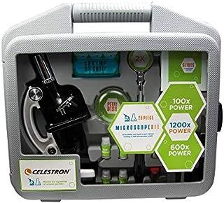 طقم المجهر سيلسترون 28 قطعة - عدسة منشور أحادية اللون رؤية عالية القدرة - 022