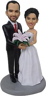 Regalo speciale Giocattoli da sposa Mini Cera Figura Compleanno personalizzato Sposa e sposo Regali di nozze Idee Matrimon...