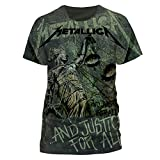 T-Shirt (L) Justice Neon All-Over (Unisex)