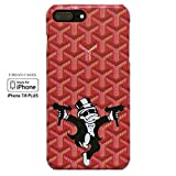 Fashion Case Urban Hip Cases iPhone Hype for iPhone Plus (RED, 7/8 Plus)