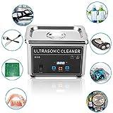 Máquina De Limpieza De Joyas, Limpiador ultrasónico Profesional - CJ-008 de Alta frecuencia para una Limpieza Perfecta, Limpiador ultrasónico para Relojes Hechos a Mano, llaveros, Cuchillos
