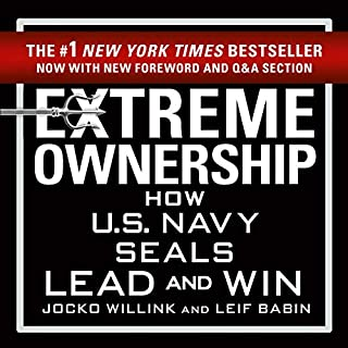Extreme Ownership                   By:                                                                                                                                 Jocko Willink,                                                                                        Leif Babin                               Narrated by:                                                                                                                                 Jocko Willink,                                                                                        Leif Babin                      Length: 8 hrs and 25 mins     1,730 ratings     Overall 4.7