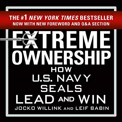 Extreme Ownership                   By:                                                                                                                                 Jocko Willink,                                                                                        Leif Babin                               Narrated by:                                                                                                                                 Jocko Willink,                                                                                        Leif Babin                      Length: 8 hrs and 25 mins     1,814 ratings     Overall 4.7