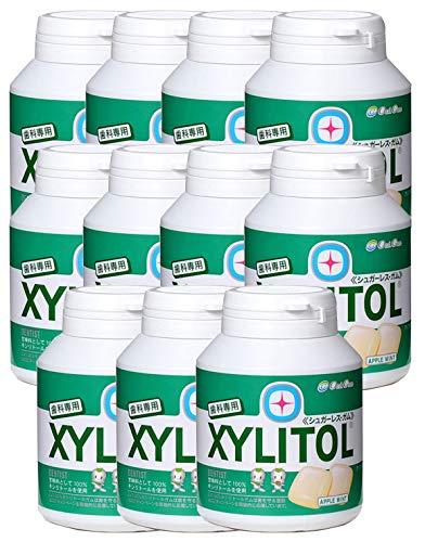 歯科専用 キシリトールガム ボトルタイプ アップルミント(約90粒) 11個セット