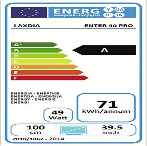 Dyon Enter 40 Pro 100,3 cm (39,5 Zoll) Fernseher (Triple Tuner, DVB-T2 H.265/HEVC)