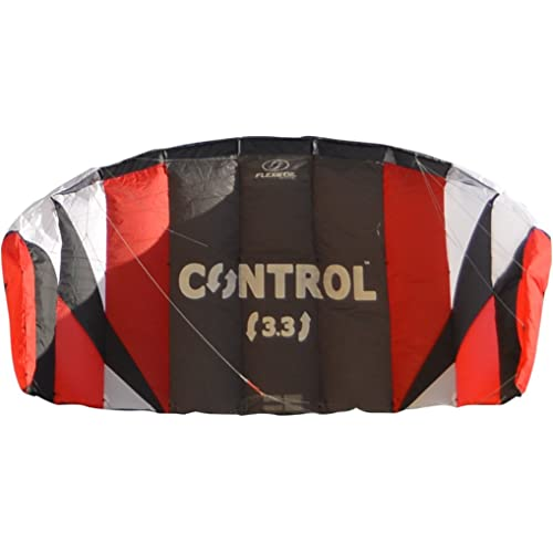 FLEXIFOIL 1.7m2/2.4m2/3.3m2 Control Kitesurf Trainer Kite inc. Bar