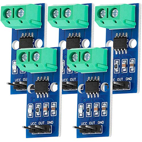 AZDelivery 5 x ACS712 30A Ampere Stromsensor Range Modul Current Sensor kompatibel mit Arduino Bascom inklusive E-Book!