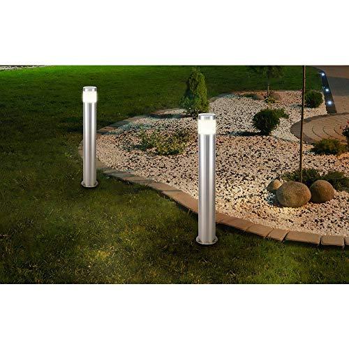 Lampe LED sur pied Renkforce Riva HY0002PSH-4/ 573c4 LED intégrée Puissance: 10.5 W blanc chaud