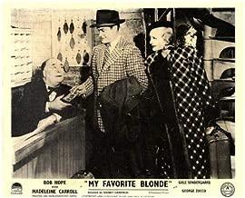 My Favorite Blonde Original Lobby Card Bob Hope Madeleine Carroll 1942