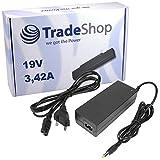 Lavolta - Cargador para portátil compatible con Acer eMachines E510, E520, E525, E527, E620, E625, E625, E627, E630, E720, E725, E727, G420, G525 (19 V, 3,42 A, 5 A, 5 A, 5 A) 625 g. 627 G630 G720 G725.