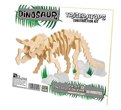 Professor Puzzle - Uk - 331844 - Kit De Construction - Dinosaur - Triceratops