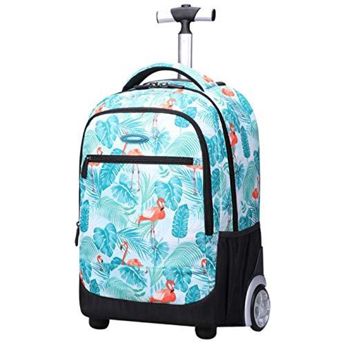 """Trolley Rucksack Schulrucksack Kinder Multifunktionaler Rucksack Schultaschen Koffer 19\"""" Laptop Reise Schule Geschäft Rucksack mit Rädern Für Jungen Mädchen"""