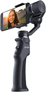 Xmate Cruise 3 Axis Handheld Smartphone Gimbal (Black) |Object Tracking | Zoom Capability |Video Edit & Share Support | 8 Hours Battery Life