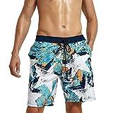 Bañador de Hombre For Hombre de Gran tamaño Corto Bañador Coloreado Brillante Trajes de baño Trajes de baño Pantalones Cortos for alquileres de Cortocircuitos Ocasionales Shorts de Playa