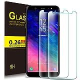 KuGi Samsung Galaxy A6 2018 Protection Ecran, Ultra Résistant Film Protection écran Glass [Dureté 9H] Screen Protector pour...