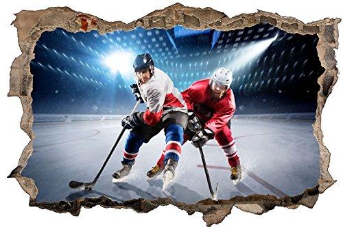 Eishockey Eis Stadion Wandtattoo Wandsticker Wandaufkleber D0617 Größe 40 cm x 60 cm
