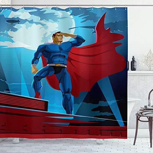 cortinas baño marvel