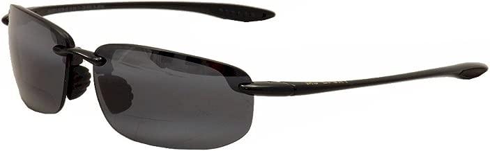 Maui Jim Unisex Ho'okipa Readers 2.5 Gloss Black/Neutral Grey Lens/2.5 Lens +2.50