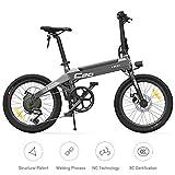 Fy-Light Bicicleta Eléctrica Himo Ligera Plegable 20 E-Bike Mountain Sport con Batería de Litio 36V 10Ah 6 Velocidades para Adultos