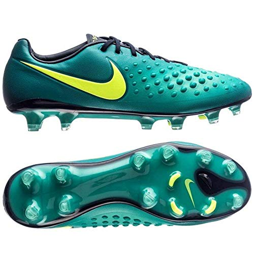 Nike Jr Magista Obra II FG Rio Teal/Volt Obsidian Shoes - 5Y