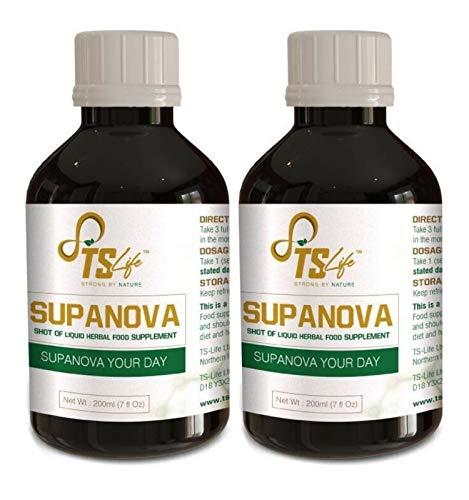 Supanova Liquid Food Supplement 2 X 250ml Bottles - by MYSMYTHS
