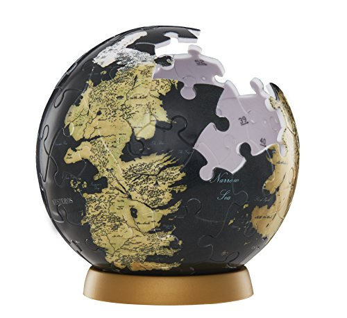 4D Cityscape 30000 Game of Thrones/The Unknown World 3D Globe Puzzle