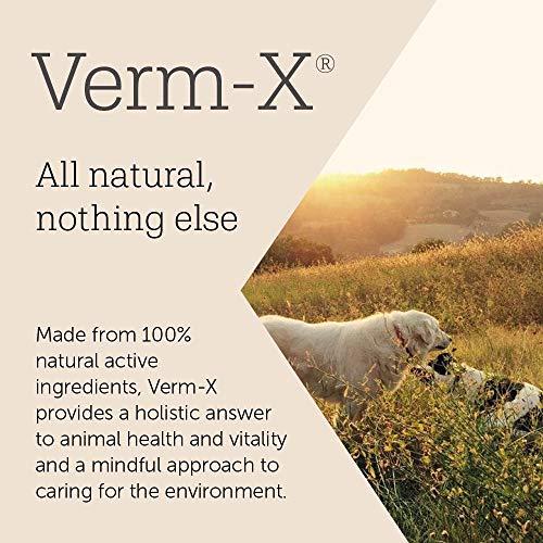 Verm-X Flüssig für Geflügel, 250 ml. Statt chemischer Wurmkur für Hühner, Gänse, Enten, usw. eine natürliche Kontrolle innerer Parasiten mit der bewährten Verm-X Kräuter-Rezeptur. - 5