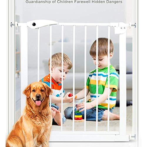 Baby Gate Ringhiera per Scale Recinzione per Animali Domestici cancelletto di Sicurezza per Neonati cancelletto per Scale per Bambini ringhiera per Animali Recinzione per Cani,92-99CM