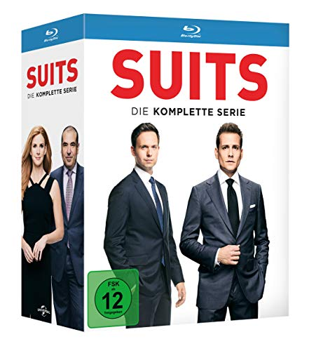 Suits - Die komplette Serie [Blu-ray]