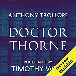 Doctor Thorne audiobook cover art