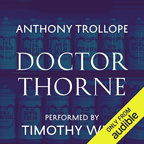 Doctor Thorne audiobook cover art