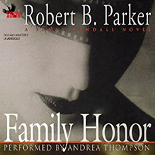 Family Honor audiobook cover art