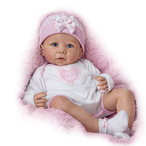 The Ashton-Drake Galleries Ashton-Drake Lifelike Vinyl Baby Girl Doll by Linda Murray: Weighted & Poseable