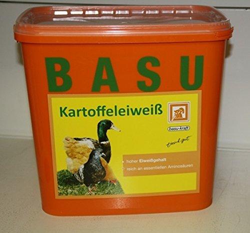 BASU Kartoffeleiweiß Kartoffel-Eiweiß Einzel-Futtermittel Zusatz-Futter, 6 kg