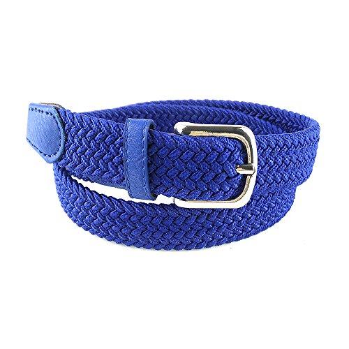 MixYourBeauty MYB Cinturón elástico trenzado para niños y niñas - múltiples colores...