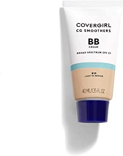 COVERGIRL Smoothers Lightweight BB Cream, 1 Tube (1.35 oz), Light to Medium 810 Skin..
