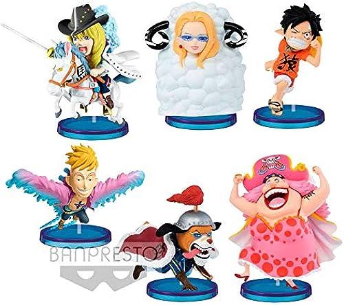One Piece World Collectable Oriental Zodiac assorted figure 6cm