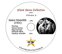 """DVD """"Janice Meredith"""" (1924) Marion Davies, Harrison Ford, Classic Silent Drama"""