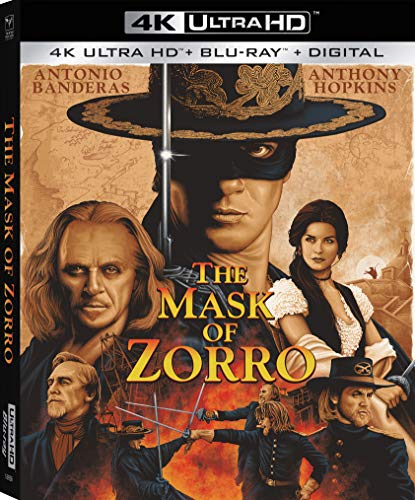 The Mask of Zorro (4K Ultra HD + Blu-ray + Digital)  $13 at Amazon