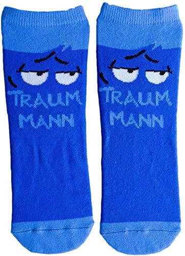 GRUSS und CO 45595 Zauber-Socken, Baumwolle/Nylon/Elastan, Blau, Größe: 41-46