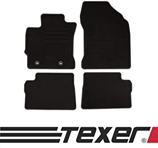 2005-2014 NEU mit Absatzschoner STD Velours Fußmatten für Toyota Aygo Bj