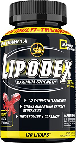 ALL STARS Lipodex (120) 120 Unidades 99 G