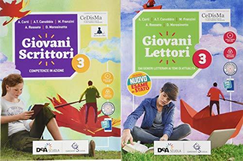 Giovani lettori. Per la Scuola media. Con e-book. Con espansione online. Con Libro: Giovani scrittori. Con DVD-ROM (Vol. 3)
