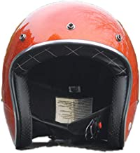BLLJQ Motorradhelm Halbhelm Halbschalenhelm Rollerhelm Moto Helmets Mofa-Helm Matt Schwarz