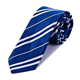 MISS FANTASY Cosplay Tie for Birthday Party Costume Accessory Necktie for Halloween Party (Blue)