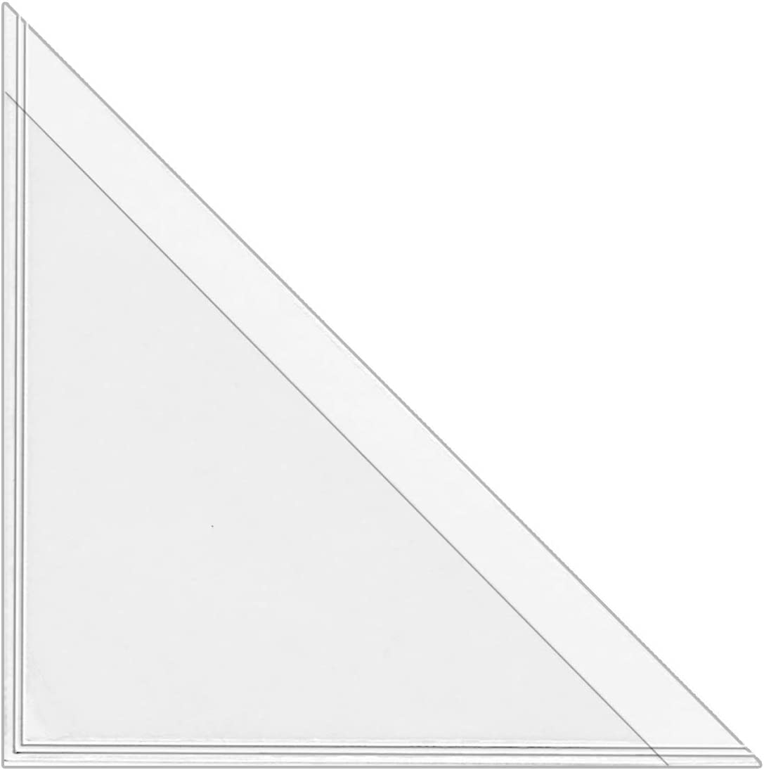 StoreSMART Peel and Stick trust Calendar Corners Plastic - 300 Clear Max 89% OFF