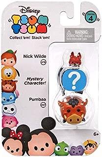 Disney Tsum Tsum Series 4 Nick Wilde & Pumbaa 1