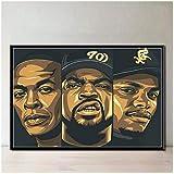 ASLKUYT Hip Hop Musik Star Rap Sänger Ice CubeKunst
