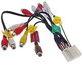 Pioneer AVIC Kabel 24pin Video AUX Line Out Cinch Video Radio Adapter Stecker AV