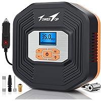 TowerTop 12V DC Portable Auto Tire Inflator Air Compressor